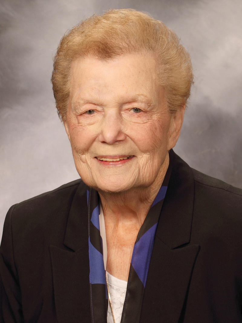 Sister Jeanne O'Laughlin, OP, PhD