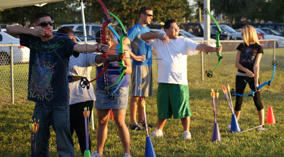 Archery at Barry University