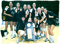 2001 Volleyball Champs