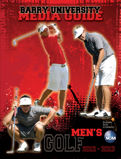 Media Guide Men's Golf