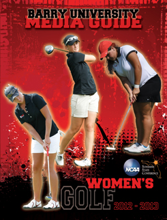 Media Guide Women's Golf