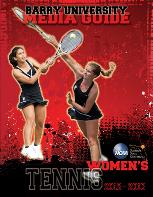 Media Guide Women's Tennis