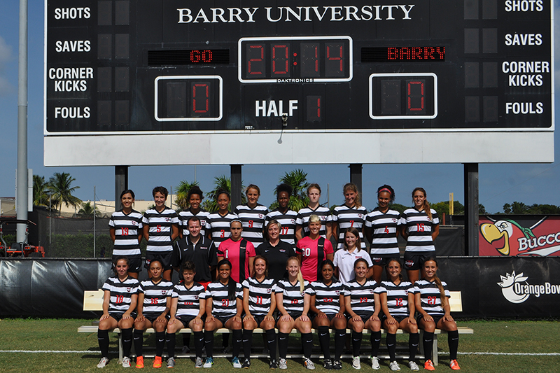Women's Soccer Team Picture