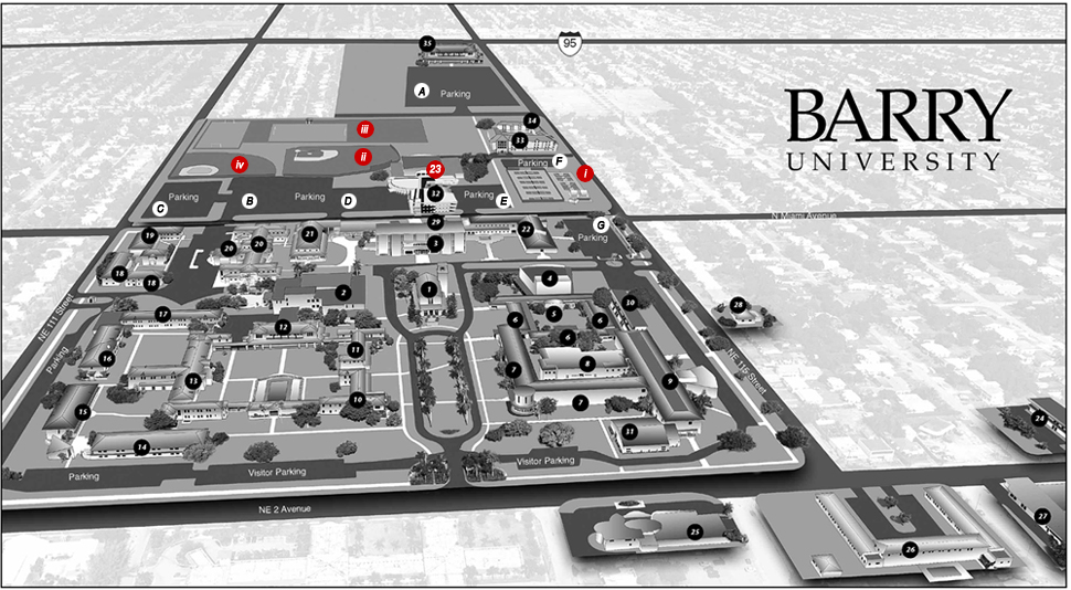 Campus Map - Athletics