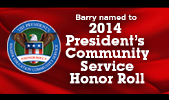 Presidents Higher Education Community Service Honor Roll