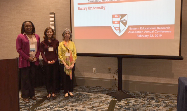 School of Education Faculty @ the 42nd Annual Conference of the Eastern Educational Research Association