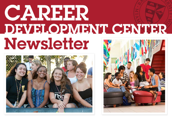 Career Development Center Newsletter