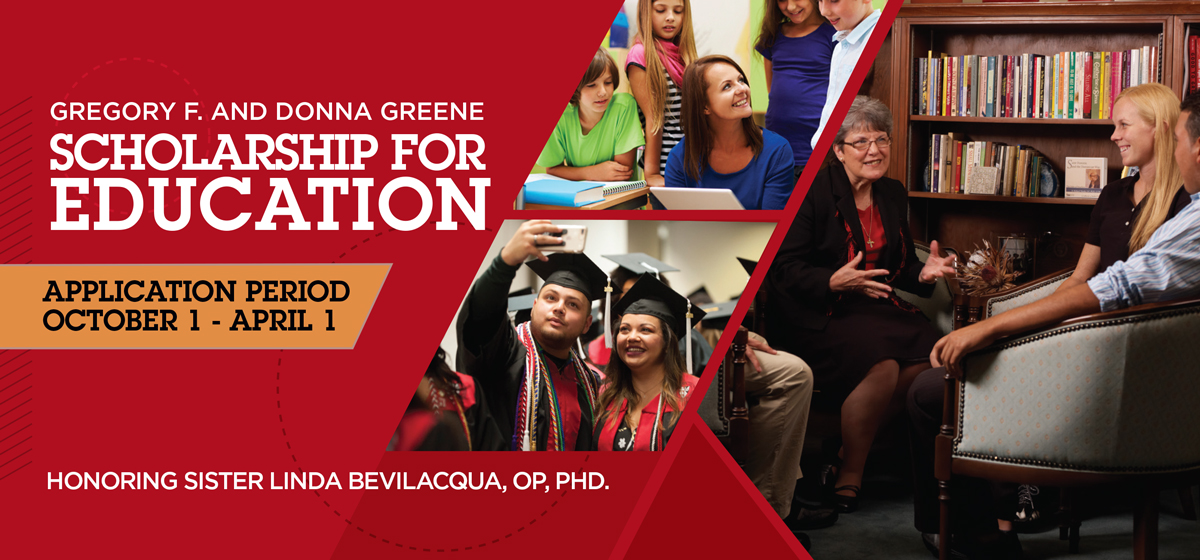 Gregory F. and Donna Greene Scholarship for Education