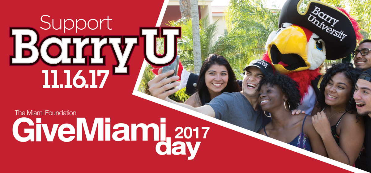 Support Barry University on Give Miami Day