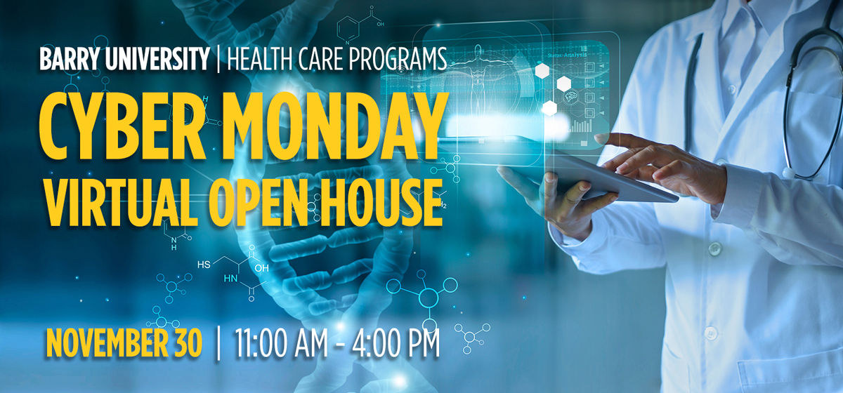 Graduate & Undergraduate Health Care Programs Virtual Open House