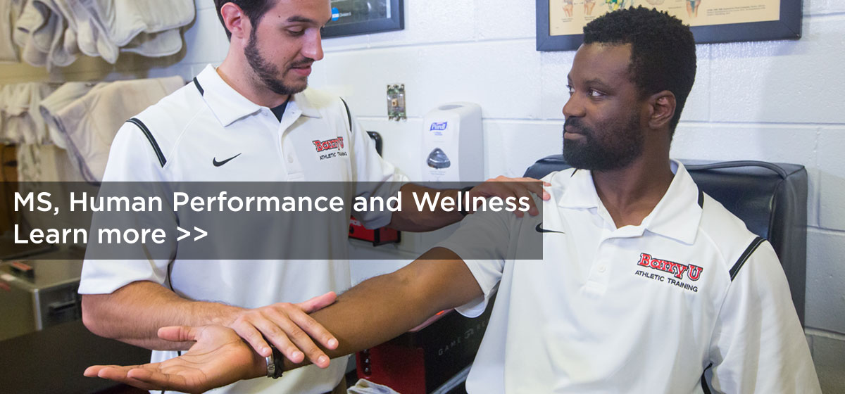 About The MS, Human Performance and Wellness Program