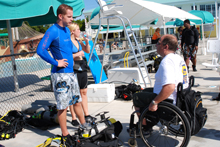 IAHD Try SCUBA Event