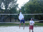 Sand Volleyball Pit
