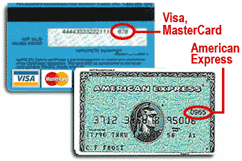 Visa Card Security Code
