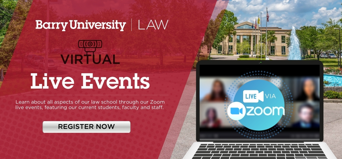 Barry Law Recruitment & Admissions Events