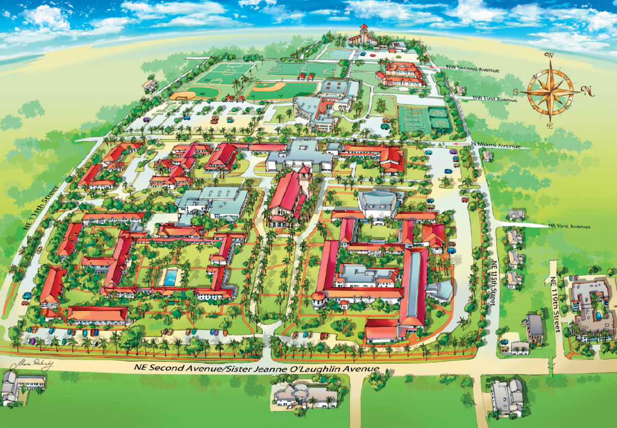 Campus Map Locations Barry University Miami Shores Florida – Map University