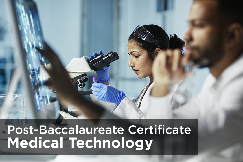 Post-Baccalaureate Certificate Program In Medical Technology