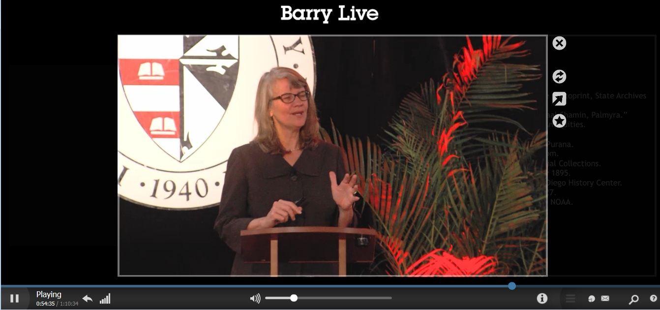 Cynthia Barnett's Keynote: Ethics Underwater: History and Destiny at the Tip of Florida
