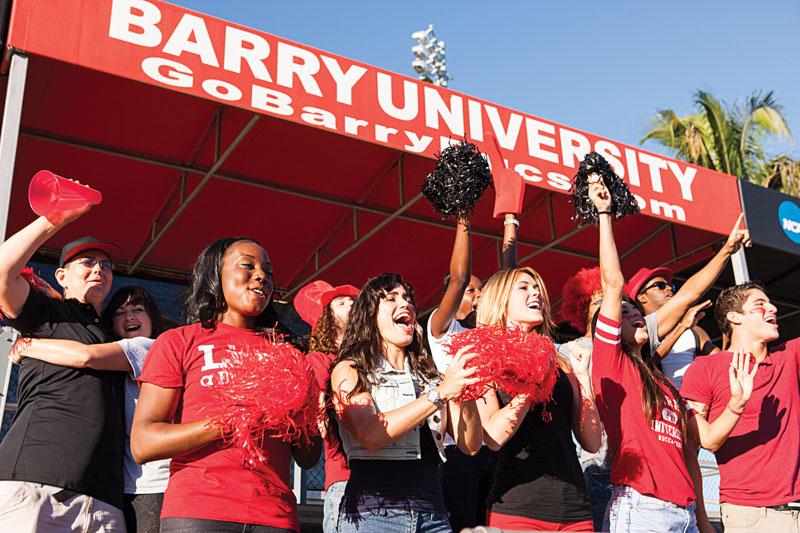 GoBarryBucs: Students Cheering