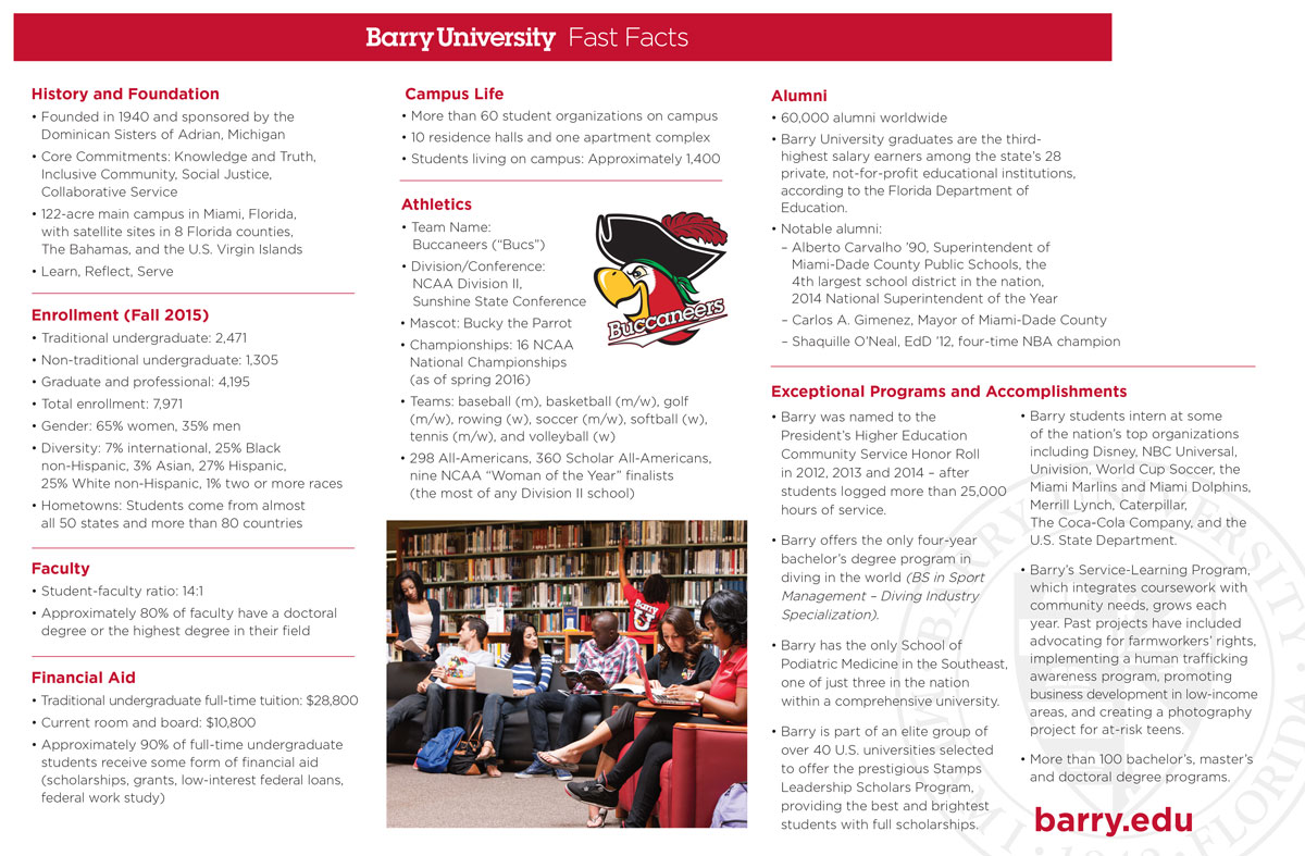 Barry University Fast Facts