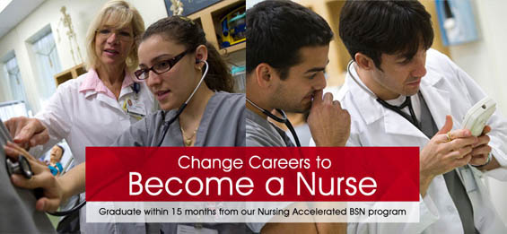 Change Careers to Become a Nurse