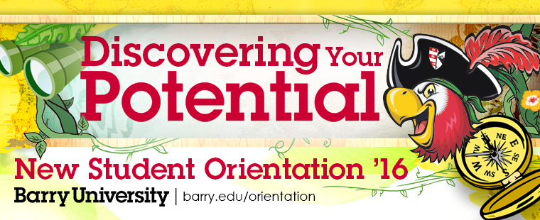 Student Orientation Schedules