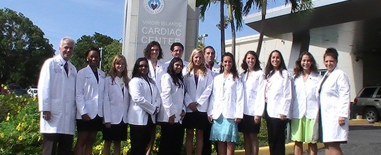 Barry's Physician Assistant program hosts three simultaneous white coat ceremonies