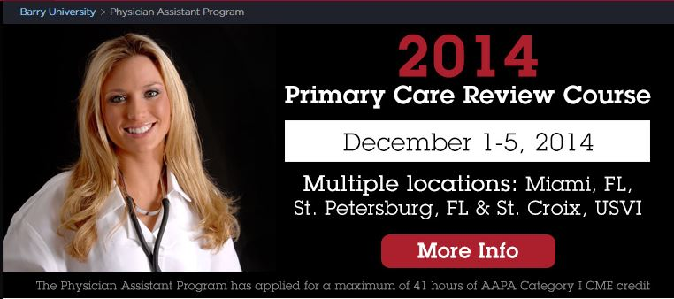 Barry University Offers Primary Care Review Course