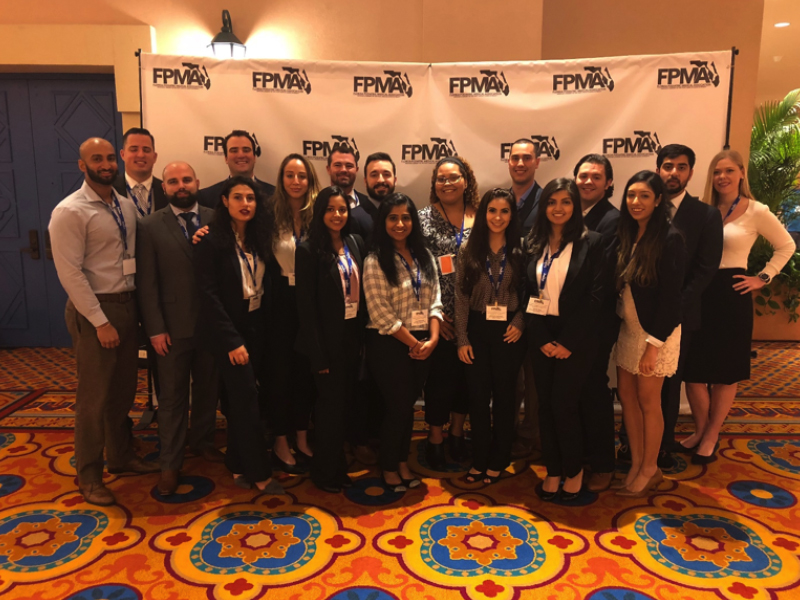 Podiatry students attend annual Science and Management Symposium
