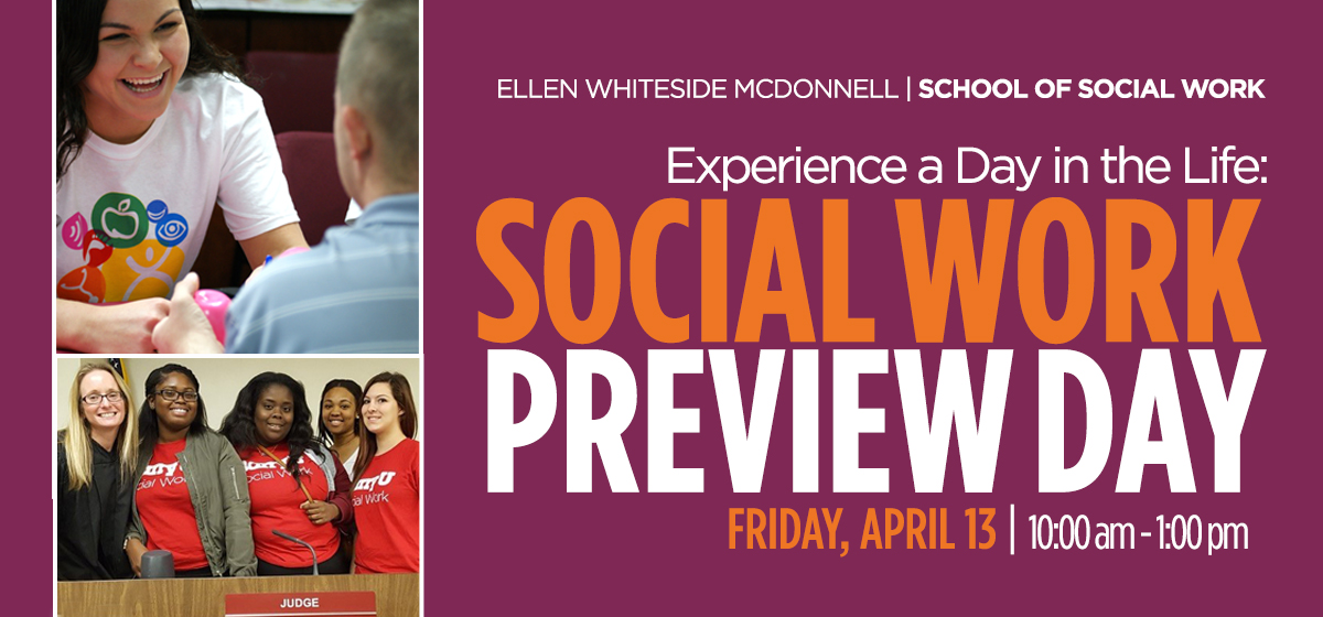 School of Social Work Preview Day