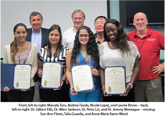 Barry University inducts new student members