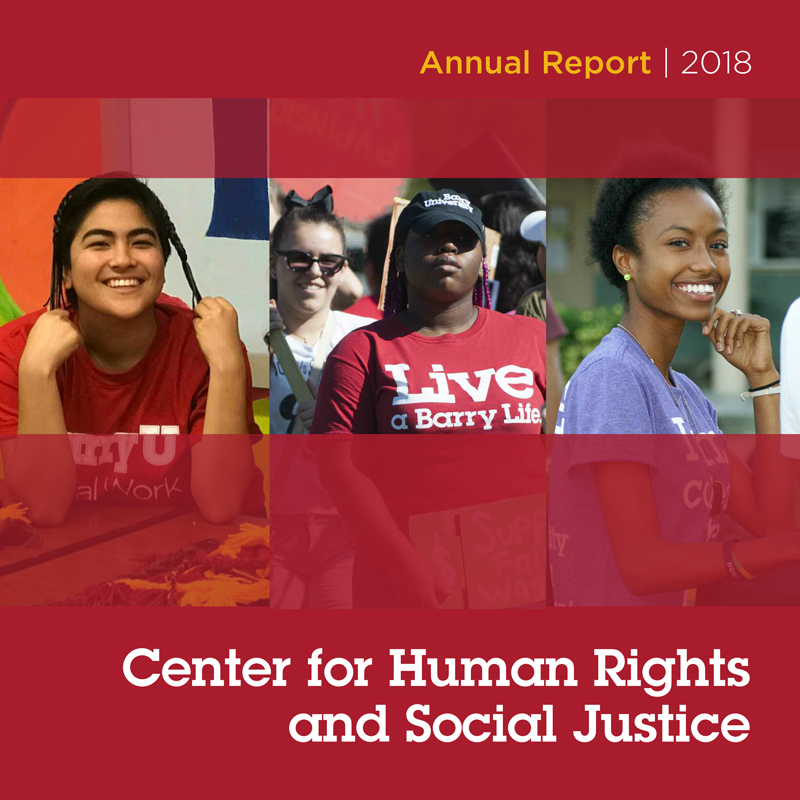 Center for Human Rights and Social Justice Annual Report: 2018