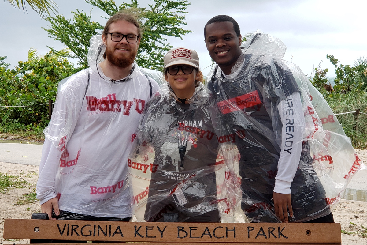 Founders' Week Day of Service: Virginia Key Beach cleanup and restoration